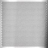 Chromium - scratched sheet metallic