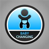 Symbol baby changing
