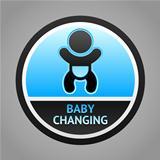 Symbol baby changing