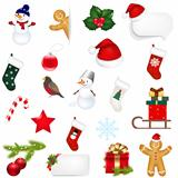 Big Set Xmas Icons