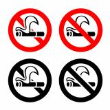 No smoking - signs