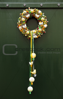 Czech Door Wreath Decoration