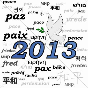 2013 peace