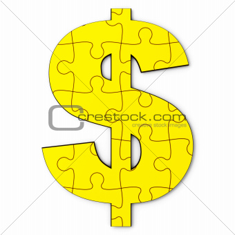 Gold dollar puzzle