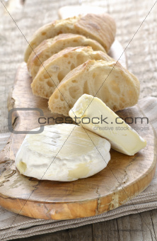 French St Marcellin soft cheese