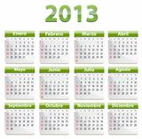 2013 Spanish calendar