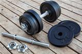 cast iron dumbbell