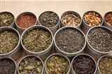 loose leaf tea background