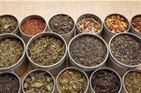 loose leaf tea background