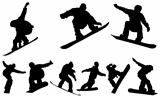 Snowboarding - vector