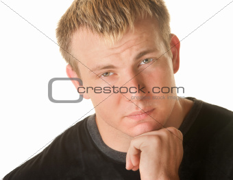 Sympathetic Blond Man