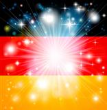 German flag background