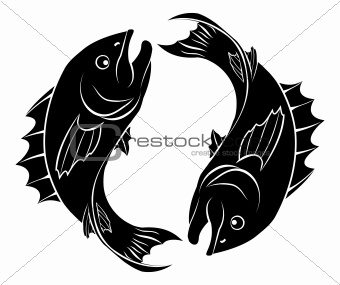 Stylised fish illustration