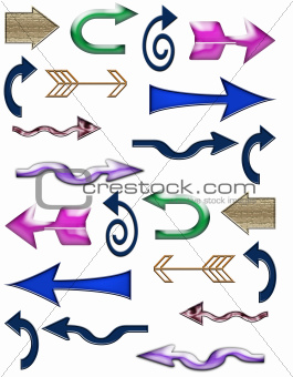 Page Of Set Arrows