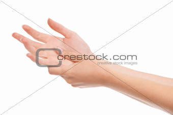 DIY hand massage