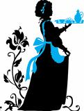 Housemaid silhouette