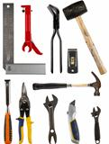 Isolated tools collection