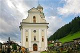 Church and cemetery of the Sesto &quot;sexten&quot; - Italian Dolomite 2