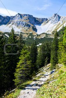 sunny day in Bavarian Alps