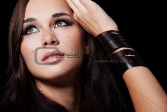 Beauty on black