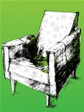 armchair over green