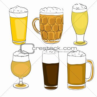 beer pints series
