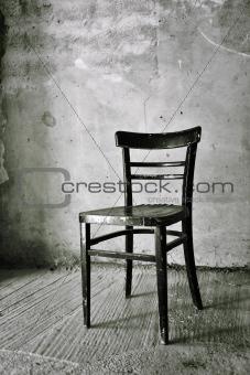 Old vintage chair