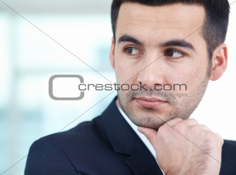 Calm businessman