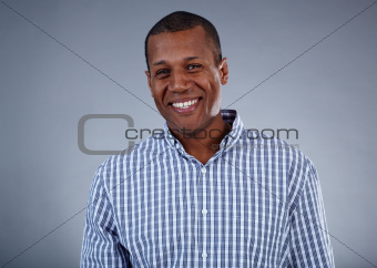 Joyful man