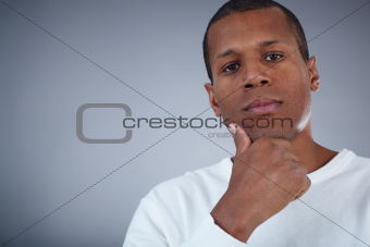 Pensive male