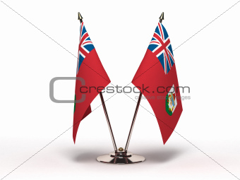 Miniature Flag of Bermuda (Isolated)