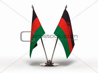 Miniature Flag of Malawi (Isolated)