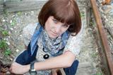 the girl in railway park