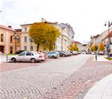 beautiful street in Vilnius