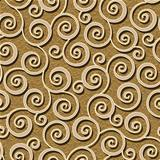 abstract flourish floral swirl seamless background pattern