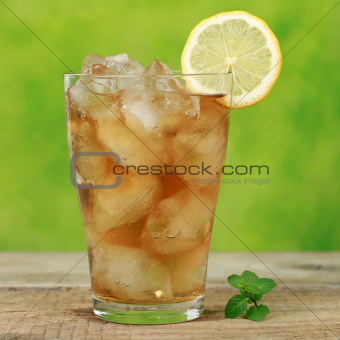 Cool ice tea