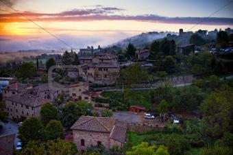 Stigliano town. Italy