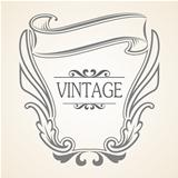 Vector Vintage frame