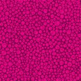 Seamless pattern with pink circles