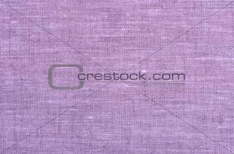 close up purple linen texture background