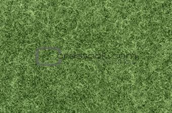 close up green felt coat background