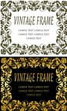 Vintage frames