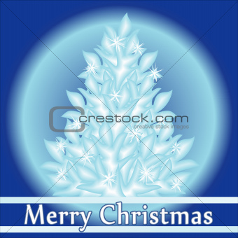 Abstract Christmas background, vector illustration.