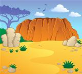 Australian theme landscape 1