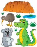 Australian wildlife fauna set 3