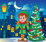 Christmas elf theme 6