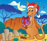 Christmas kangaroo theme image 2