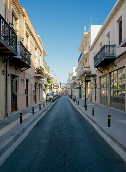 Streets of Rethymnon