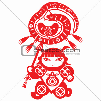 Chinese New Year Snake