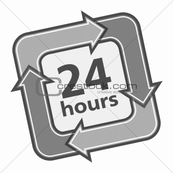 24 Hours Badge
